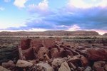 Camping at Chaco Canyon National Park