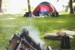 Tent Camping Sites at Minnesota State Park