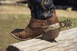 How to Put on Western Spurs & Straps