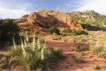 Camping Near Palo Duro Canyon, Texas