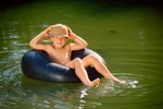 Tubing on the Brandywine River in Pennsylvania