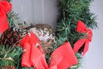 How to Keep Birds Out of Front Door Wreaths