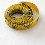 Use a flexible measuring tape for waist measurements.