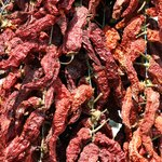 Drying peppers takes out some of the heat, replacing it with complex smokiness.