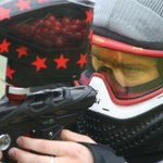 Paintballing is a fun activity which helps foster teamwork.