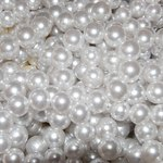Pearls add a classic embellishment to a wedding gown.