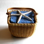 A basket can be used again later.