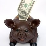 Put a percentage of your paycheck in your piggy bank consistently.