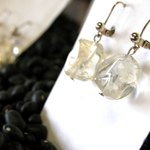 Earrings are subject to crushing or bruising if left hanging on an earring card during transport.