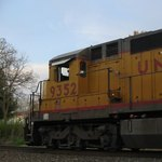 Locomotive powered by diesel engine driven AC generator
