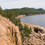 Maine's rugged terrain is a rich source of granite.