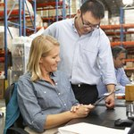 The warehouse manager has a responsibility to counsel and guide the employee.