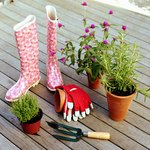 Condo rules often prohibit gardening in shared space.