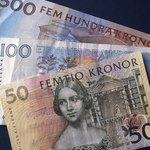 A selection of Swedish Kronas.