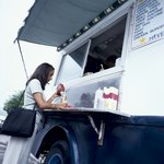 Food trucks provide a wide variety of menu items.