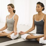 Yoga is becoming increasingly popular in gyms.