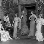Glamour and elegance characterized 1930s fashion.