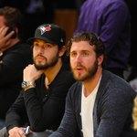 Drew Doughty and Mike Richards of LA Kings
