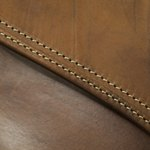 Lambskin is usually reserved for premium leather products.