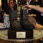 Ugg boot fashion display