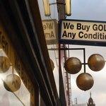 Gold buyer's shop