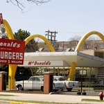 Rebuilt original McDonald's first store in Des Plaines, Illinois