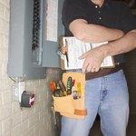 Electricians from the power company can check your meter.