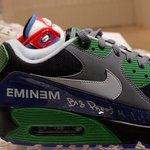 Eminem's limited edition Nike Air Max.