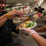 Executive Chef volunteering at New Jersey soup kitchen
