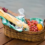 A gift basket is a great way to reward employees.
