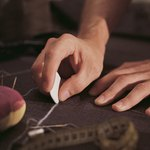 Use tailor's chalk to mark needed alterations.