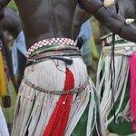 Tribal skirts.