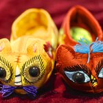 Chinese tiger baby shoes