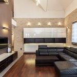 Modern condominium interior