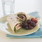 Make-your-own sandwich wraps make everyone happy.