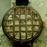 A World War I-era armored military trench wristwatch