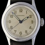 A World War II-era Longines military watch