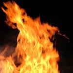 Fire is a serious health hazard.