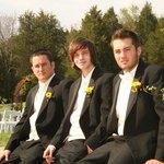 Tuxedos are classic formalwear.