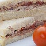 Double decker sandwiches fit the