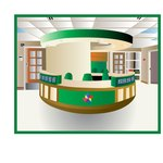 Develop a business office design for a product design company.