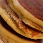 McCabe's specialty pancakes include chocolate chip, banana nut and strawberry.