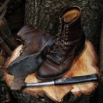 Loggers wanted dry feet and supple boots.