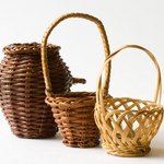 Add small gifts to baskets for personal parting gifts.