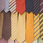 Ties come in numerous different patterns and colors.