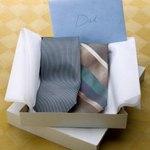 Necktie in a box