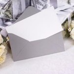 Bridal invitation with flowers.