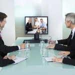 Business meeting video conference