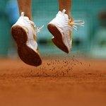 Shoe Goo is made to repair tennis shoes.