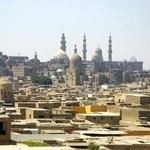 View of Cairo.